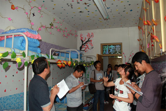 植物科学学院成功举办宿舍设计大赛-塔里木大学新闻网
